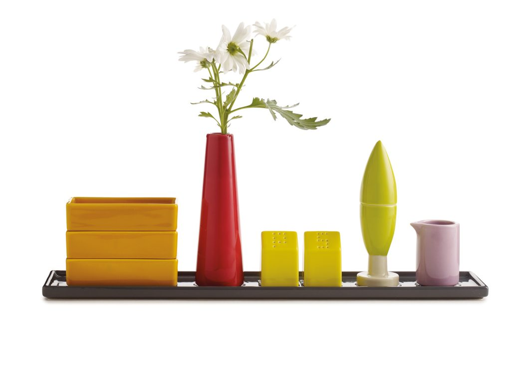Aldo Cibic's homage to the Italian countryside, the bone china Paesaggio Italiano, costs $80 for the set of nine pieces.