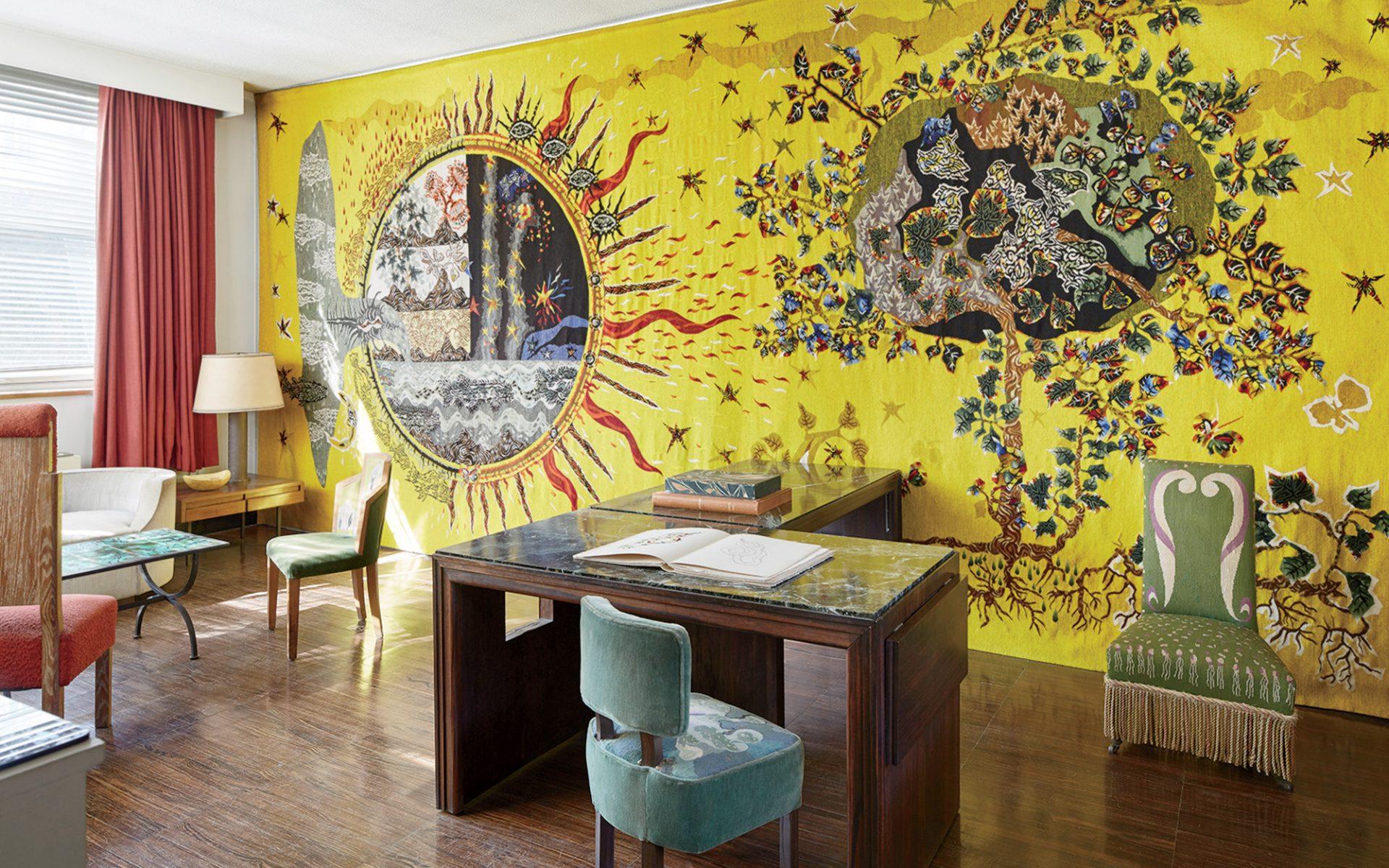 Designer Jean Lurçat\'s Hidden Paris Studio - Galerie