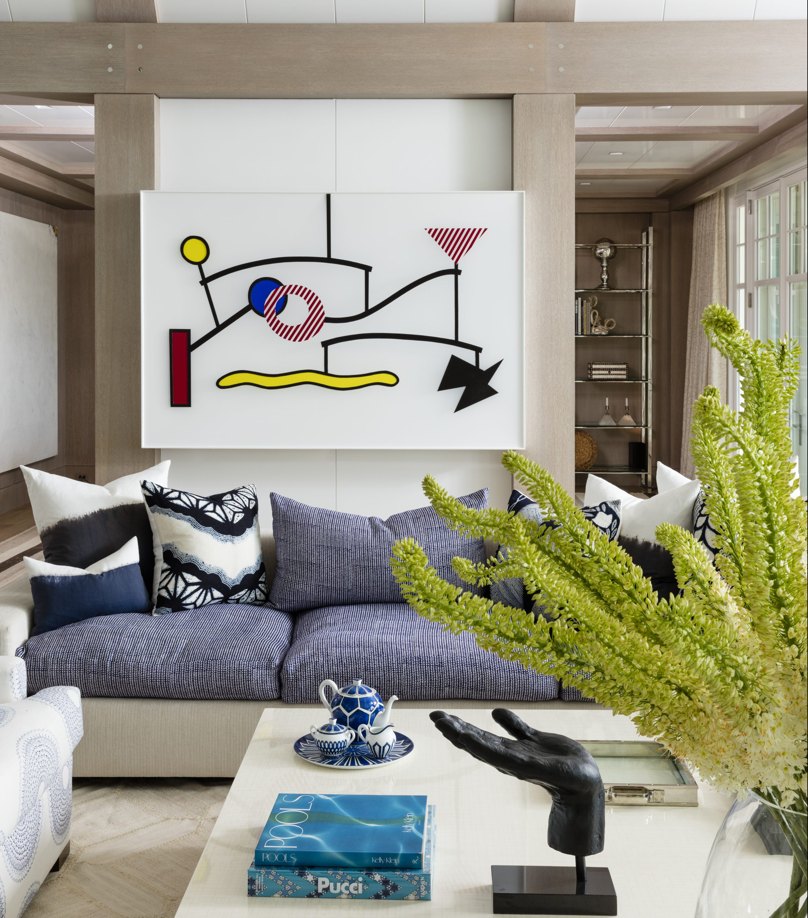 A Hamptons Dream House Filled With Modern Art
