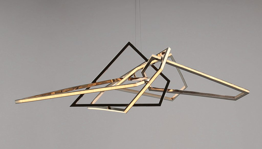 New Niamh Barry Designs Stunningly Abstract Lighting - Galerie XR62