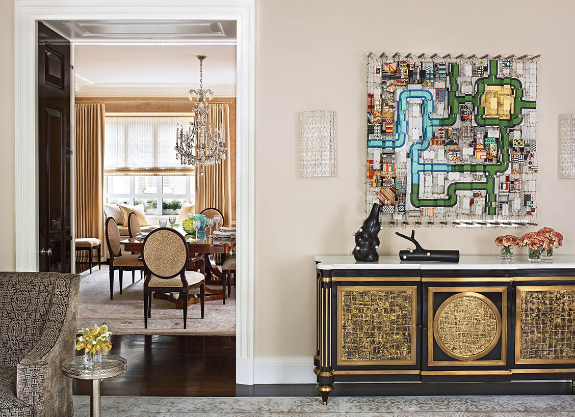 How new york designer marshall watson uses art in his designs for New classic interior