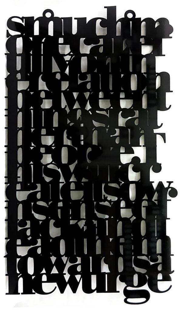 Liam Gillick, Brazil Kalmar Text, 2006.