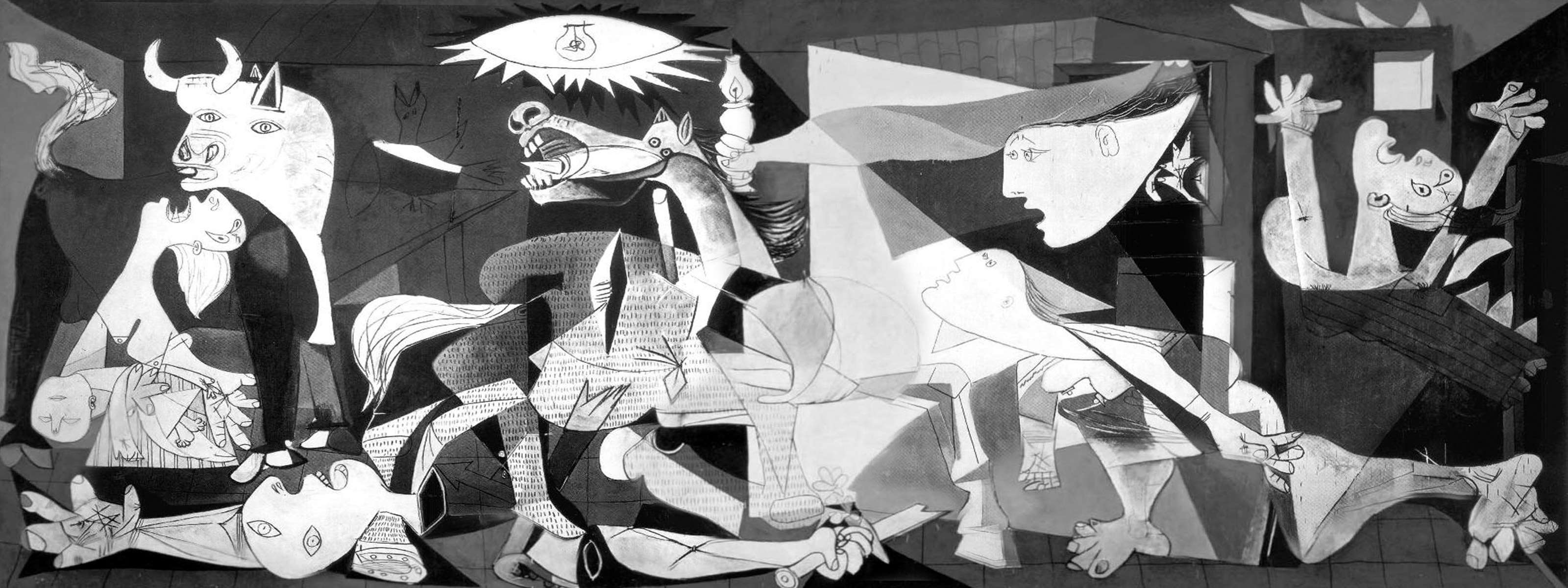 picasso guernica style Picasso pioneered cubism, invented collage, and contributed to surrealism and modern sculpture les demoiselles d'avignon, guernica, and more iconic art.