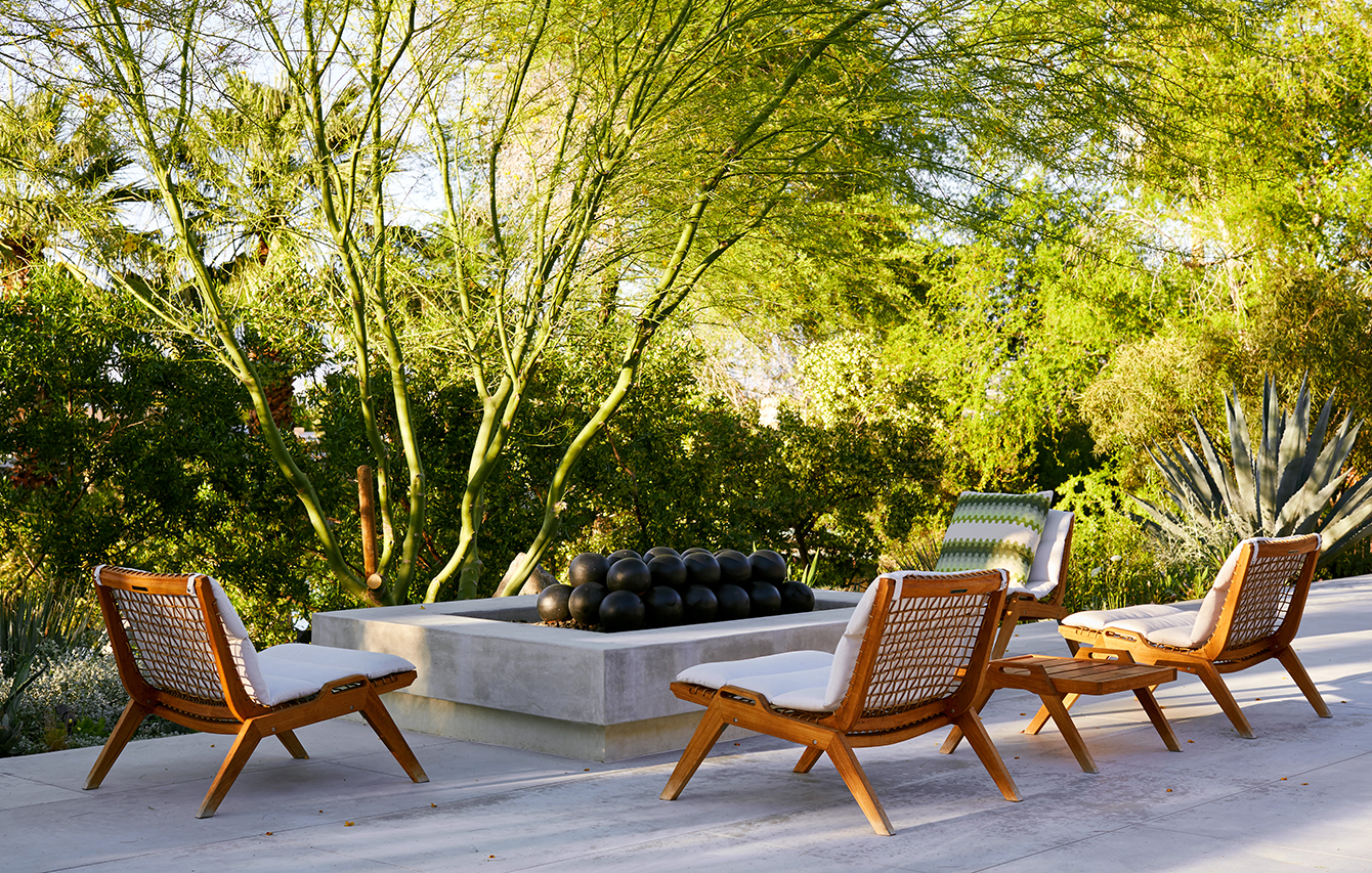 Connect with Galerie - Inside Ralph And Rita Rudin's Palm Springs Oasis - Galerie
