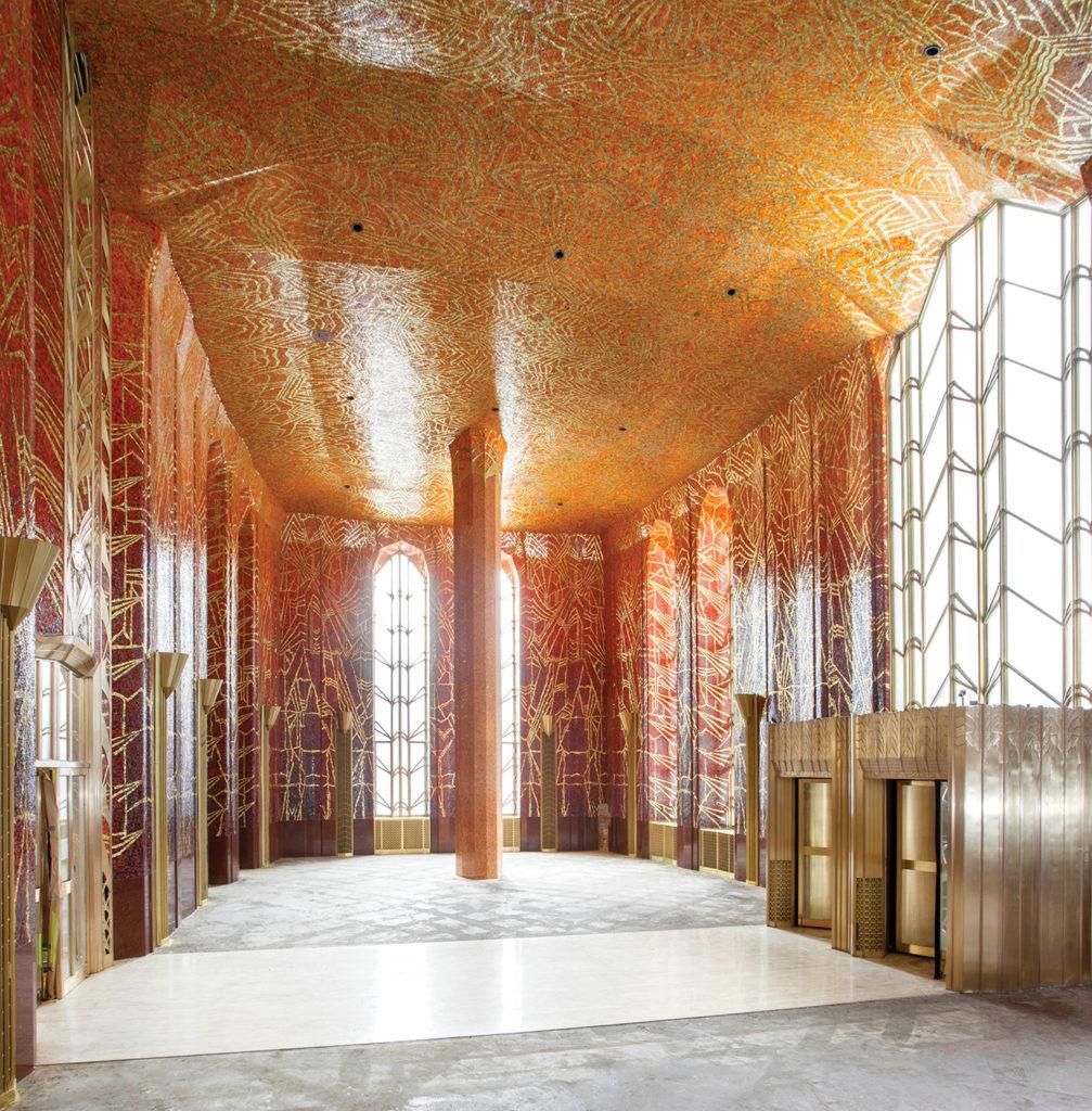 Red Room: A Hidden Art Deco Lobby On Wall Street Undergoes A $1