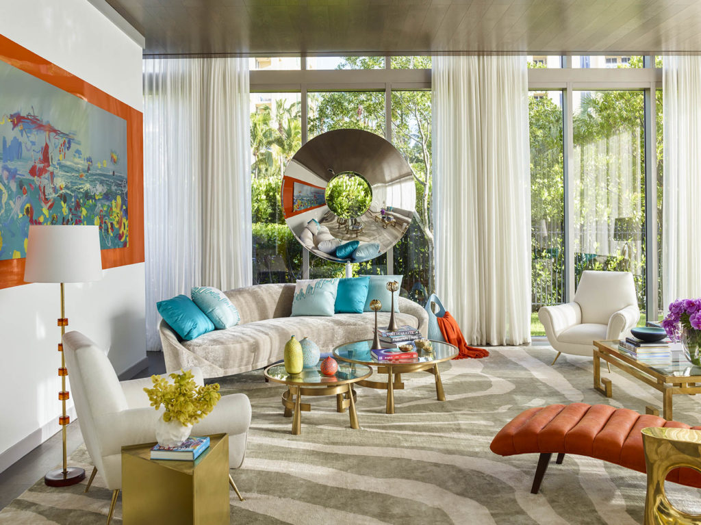 Traditional Interior Design When traditional interiors meet bold contemporary art and design for this project in miami the young clients aimed for a strong presence but preferred the house to remain a white box as the couple requested sisterspd