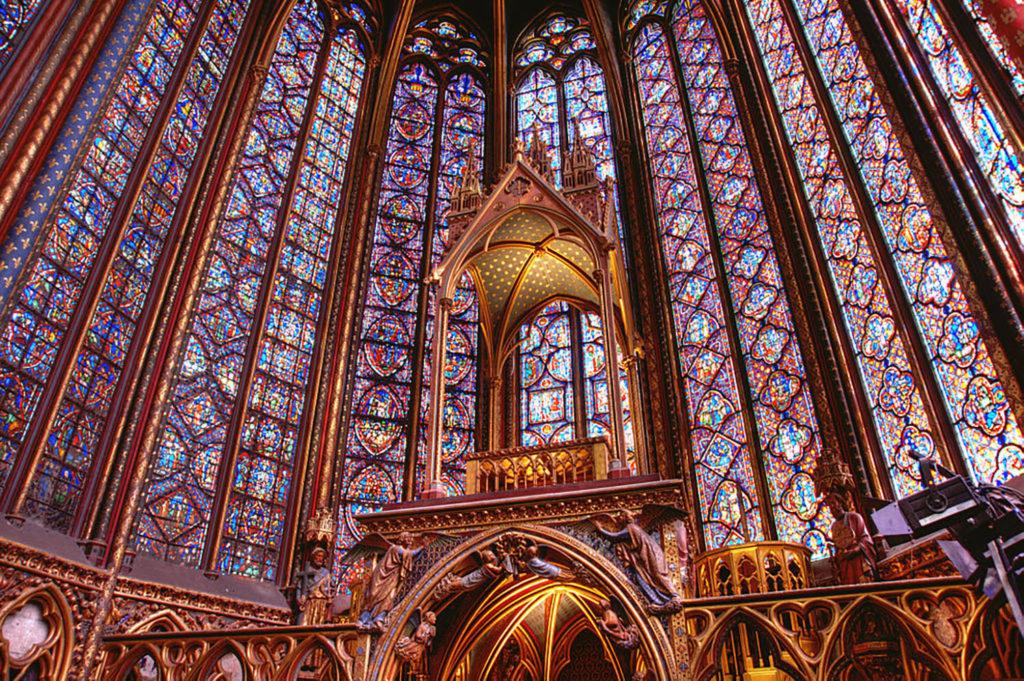Sainte Chapelle In Paris Photo Courtesy Of Wikimedia