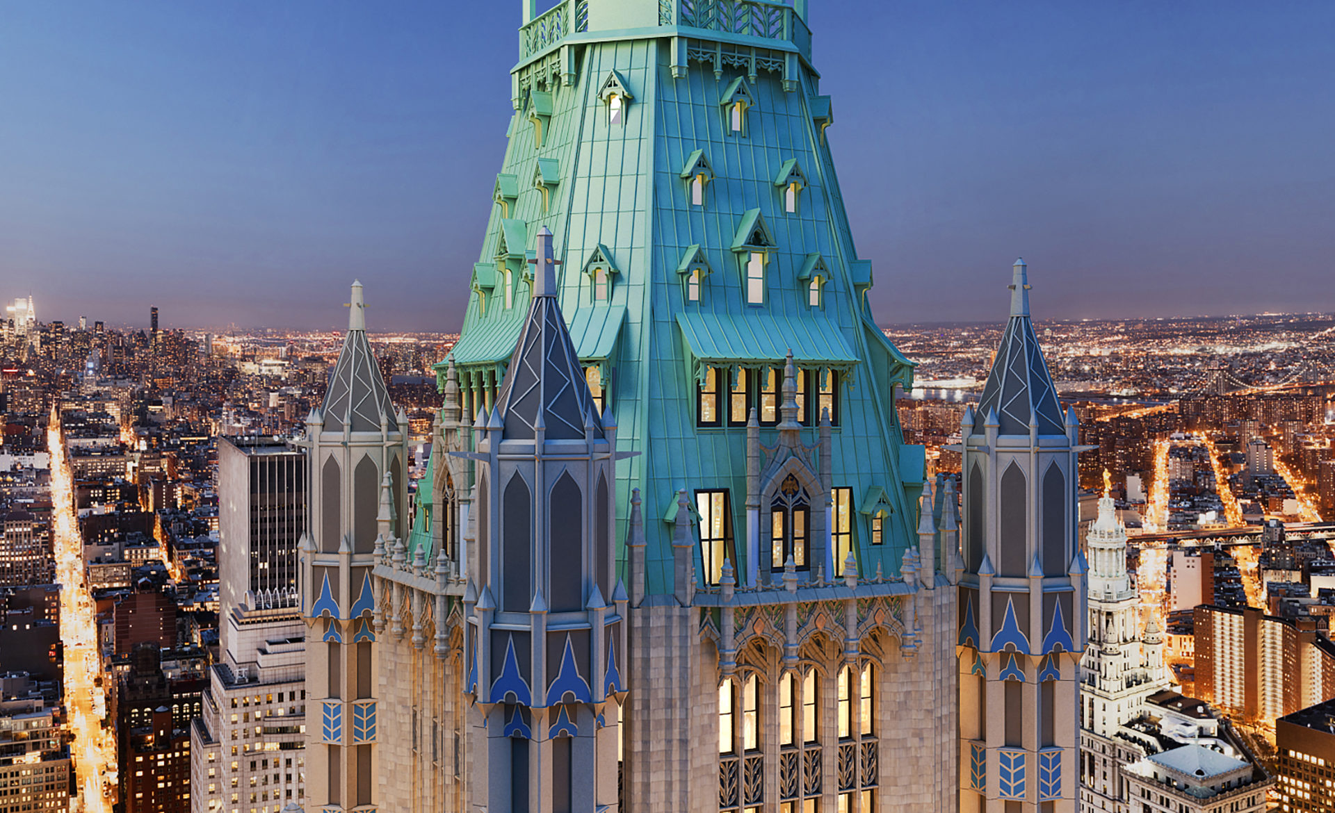 The Story Behind the Woolworth Building's Most Expensive Listing