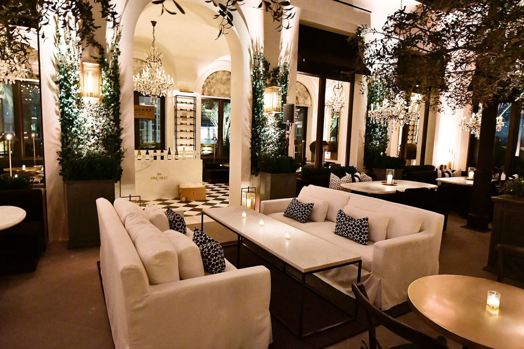 Retna Takes Over The New Restoration Hardware In Palm Beach Galerie