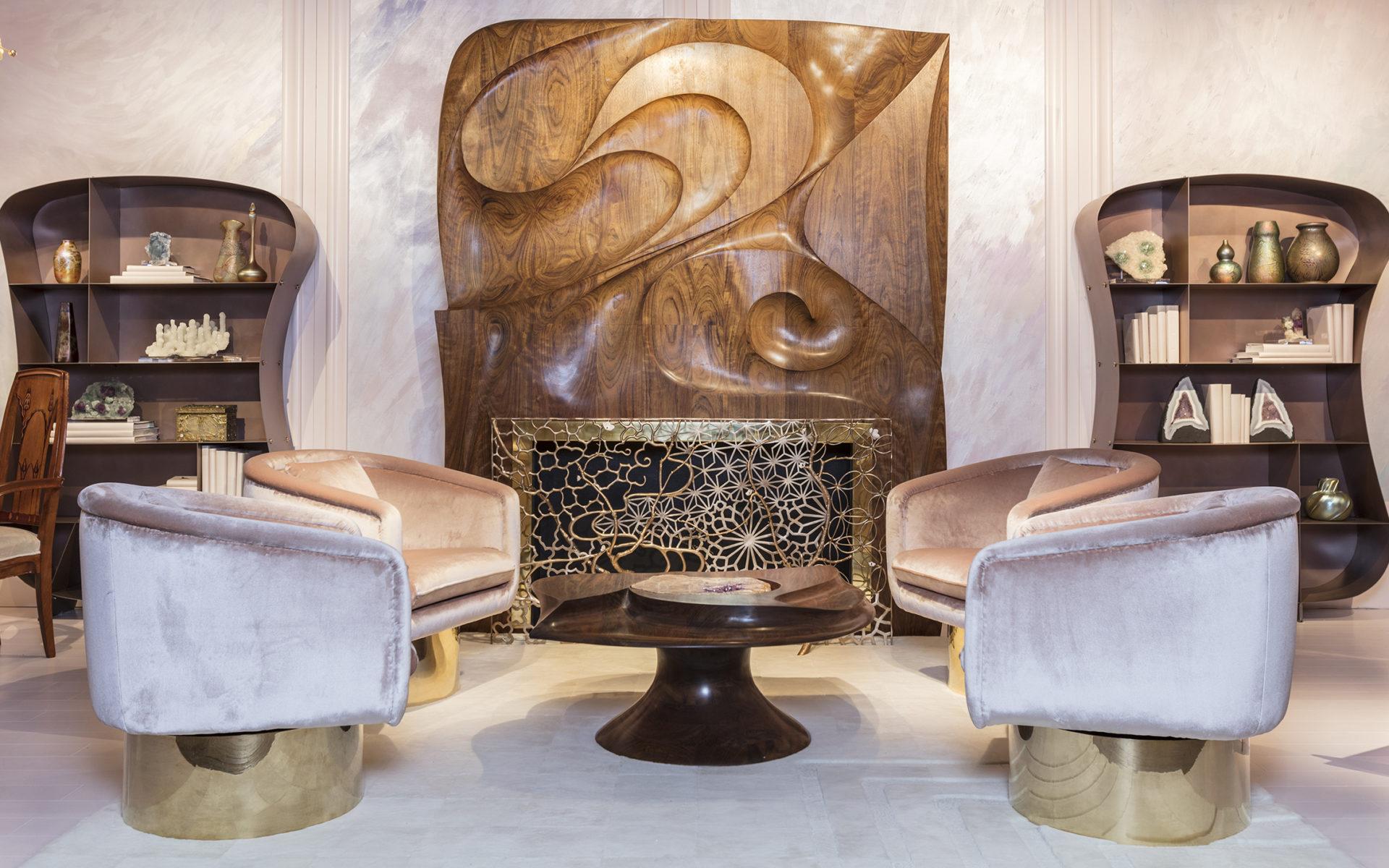 Designer Amy Lau Channels Art Nouveau at the Salon Show - Galerie
