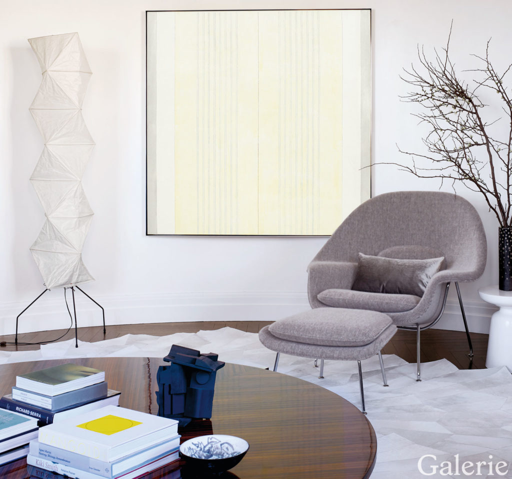 Tour andrea glimcher s art packed family home in manhattan for Jellyfish chair design within reach
