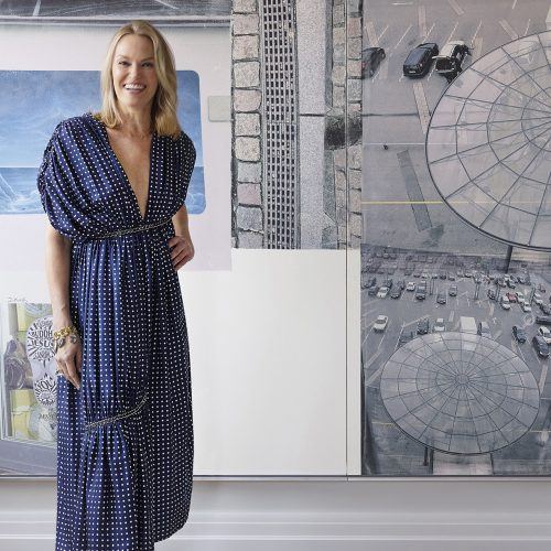 Tour Andrea Glimchers Art Packed Family Home In Manhattan Galerie