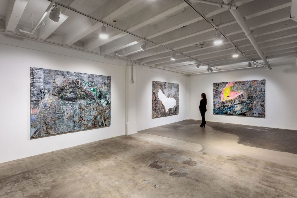 Mark Bradford Debuts Striking New Works in Los Angeles - Galerie