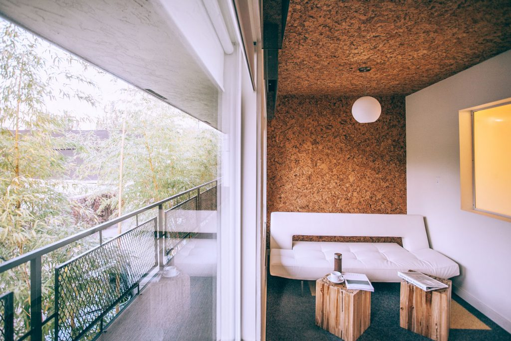 13 Of The Worlds Most Beautiful Midcentury Modern Hotels - Colorful-home-interior-on-portland-road-in-london