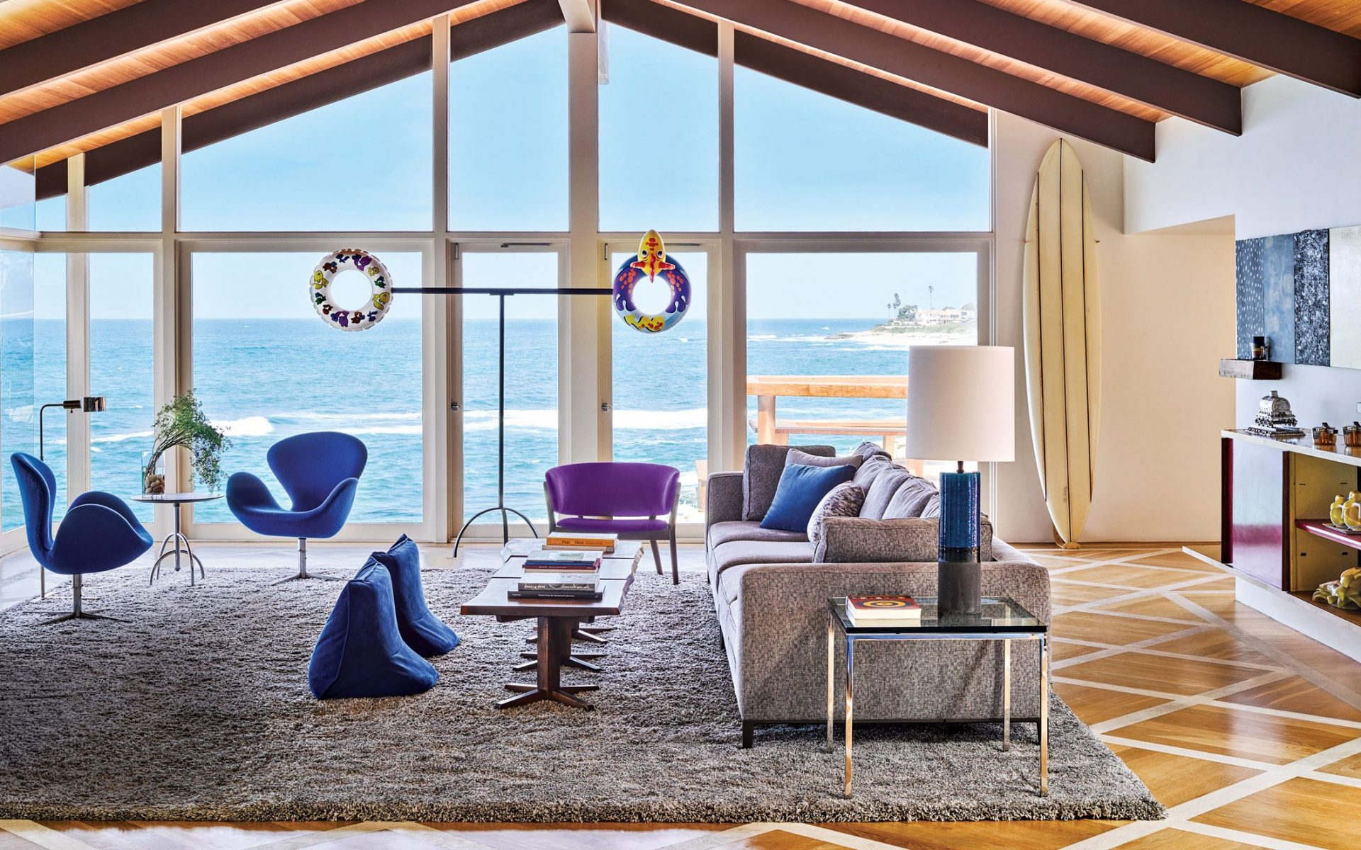 Artworks From The Sonnabend Collection Find A Home In A La Jolla Bungalow    Galerie