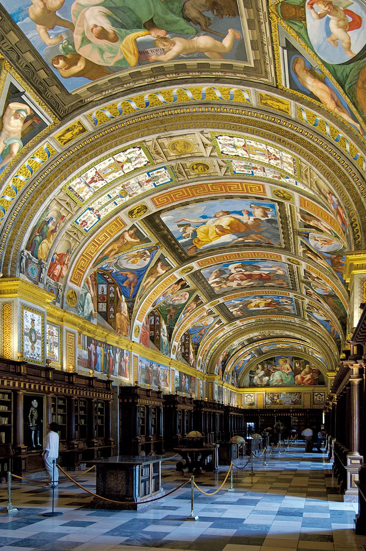 The Library of El Escorial, San Lorenzo El Escorial, Spain
