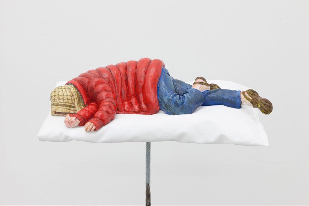 Stuart Middleton, Sleeping Person 1, 2018.