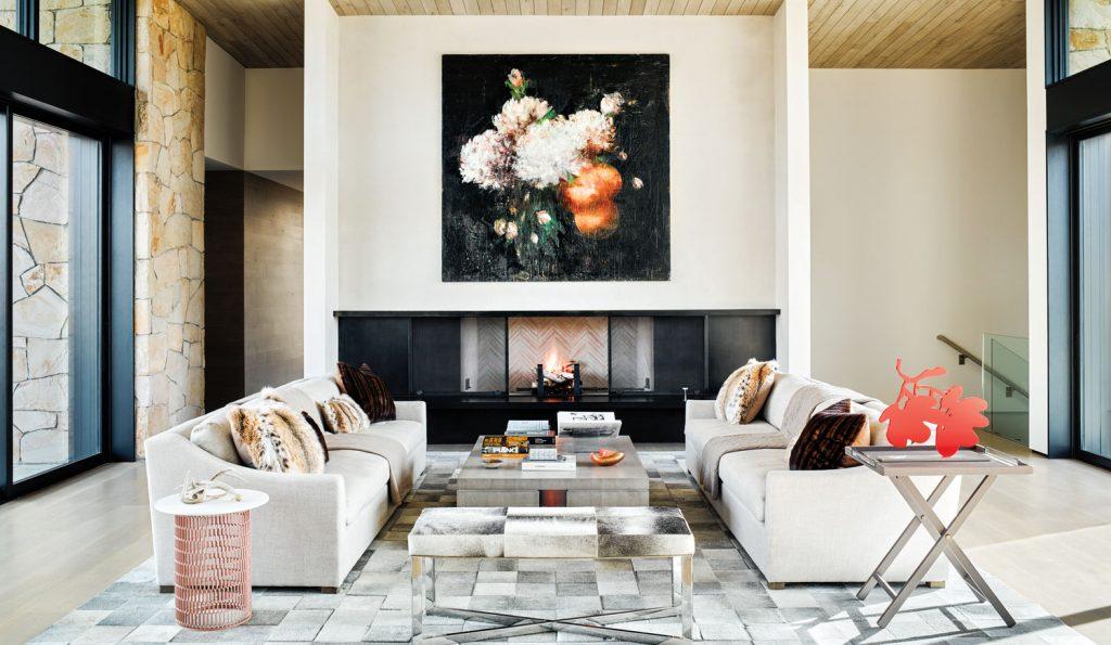 Inside Art Dealer Stacey Winston Levitan S Stunning Sun Valley Retreat Galerie