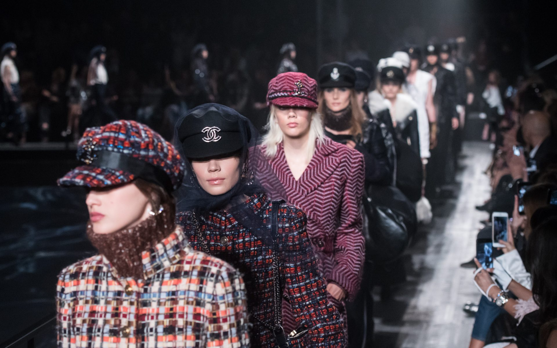 d4977f7f0ea Models walk the runway during the Chanel Replica Show in Moscow