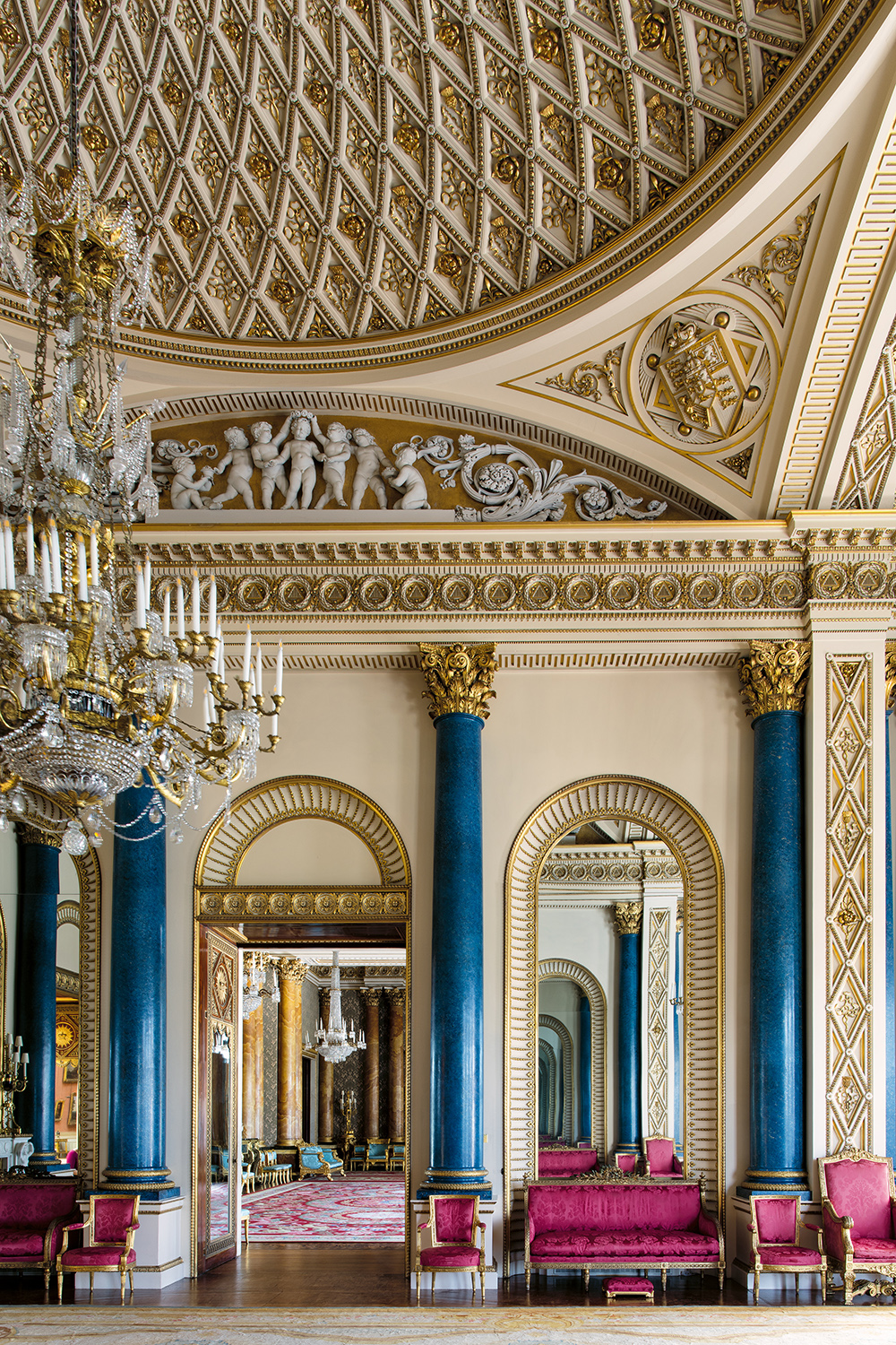 Get A Rare Glimpse Of The Royal Family's Private Rooms At