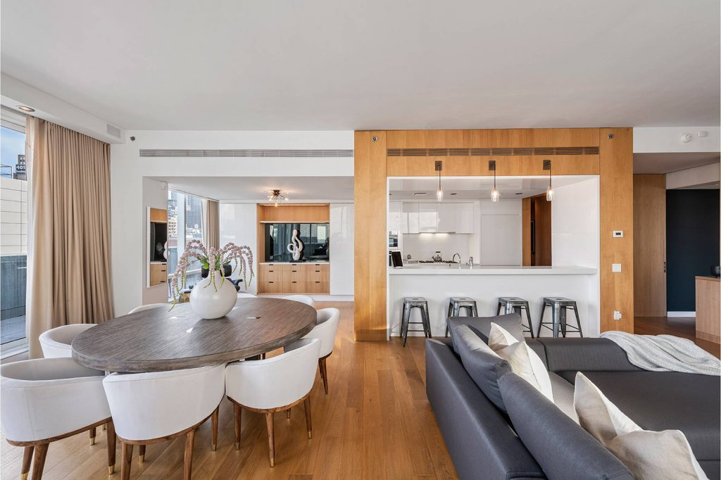 The Apartment Features Six Inch Wide Plank Oak Wood Flooring Throughout Photo Stribling Associates