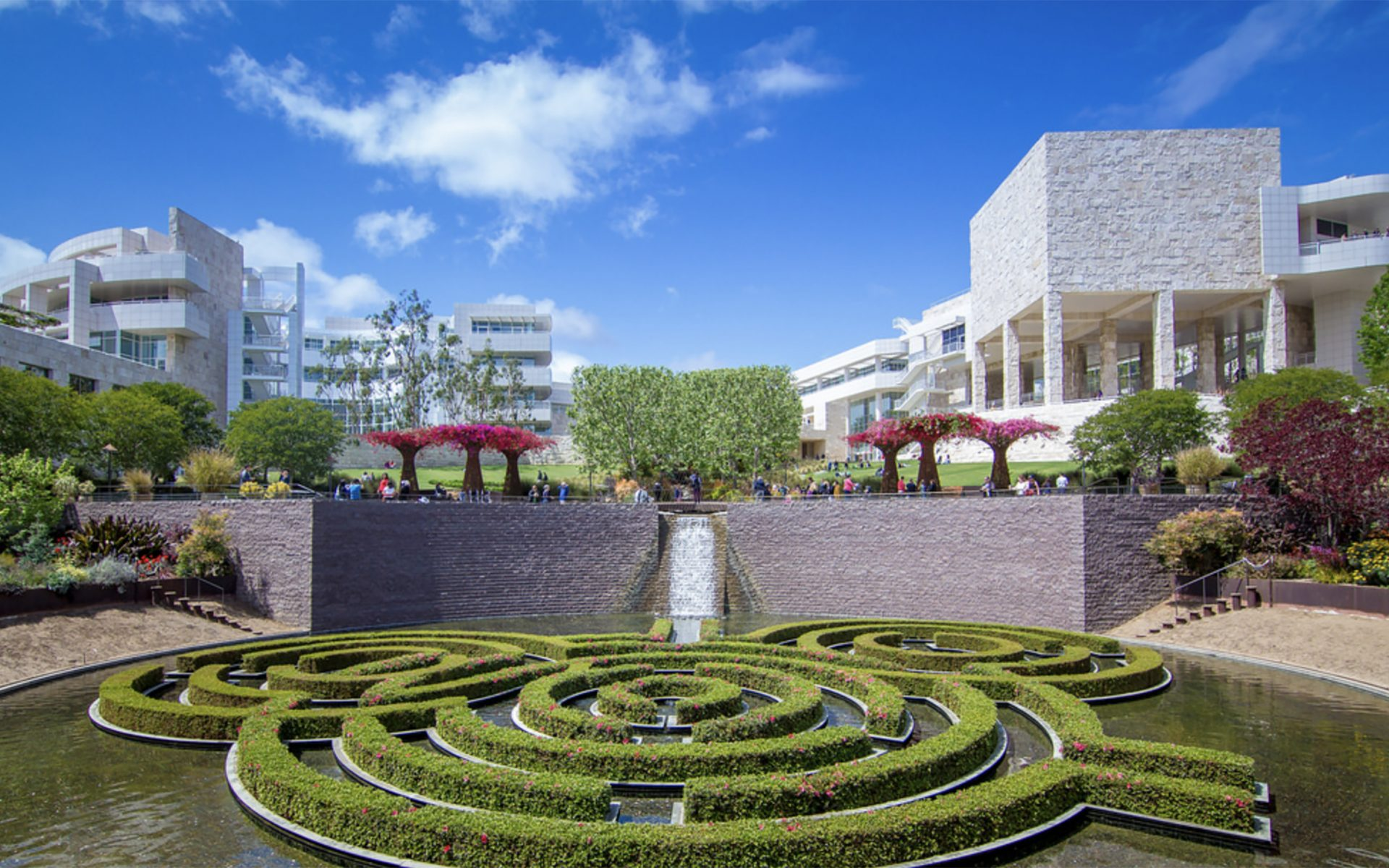 Watch The Getty Center is safe from wildfires video