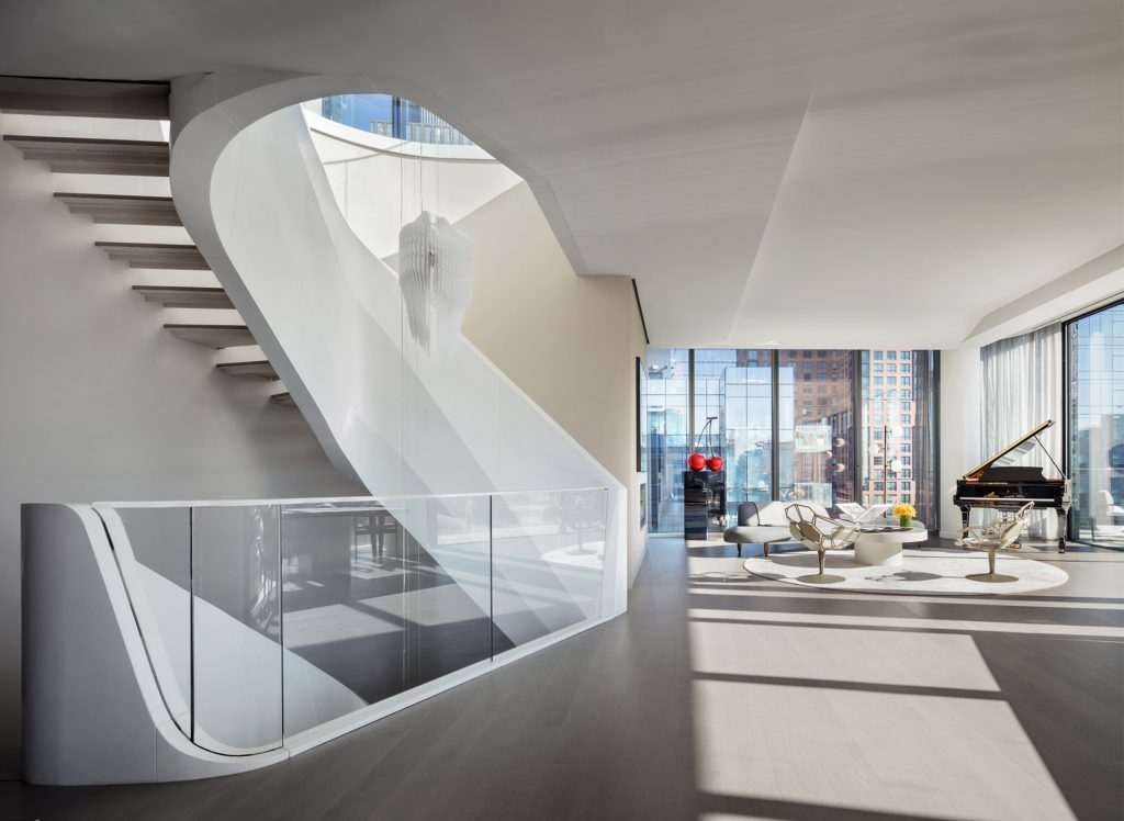A 50 Million Penthouse Designed By Zaha Hadid Comes To