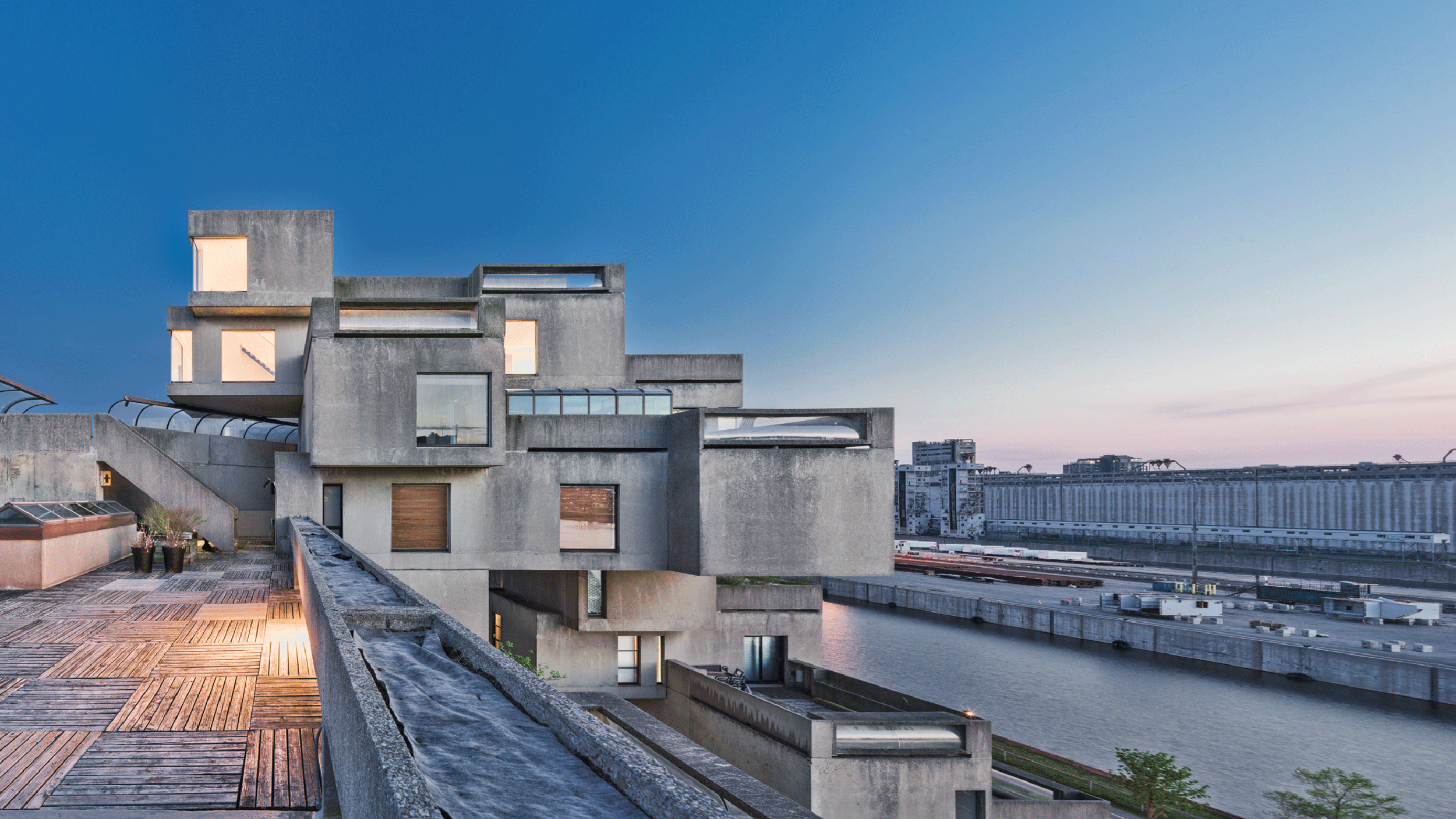 Moshe Safdie's Private Residence at Habitat 67 Opens to
