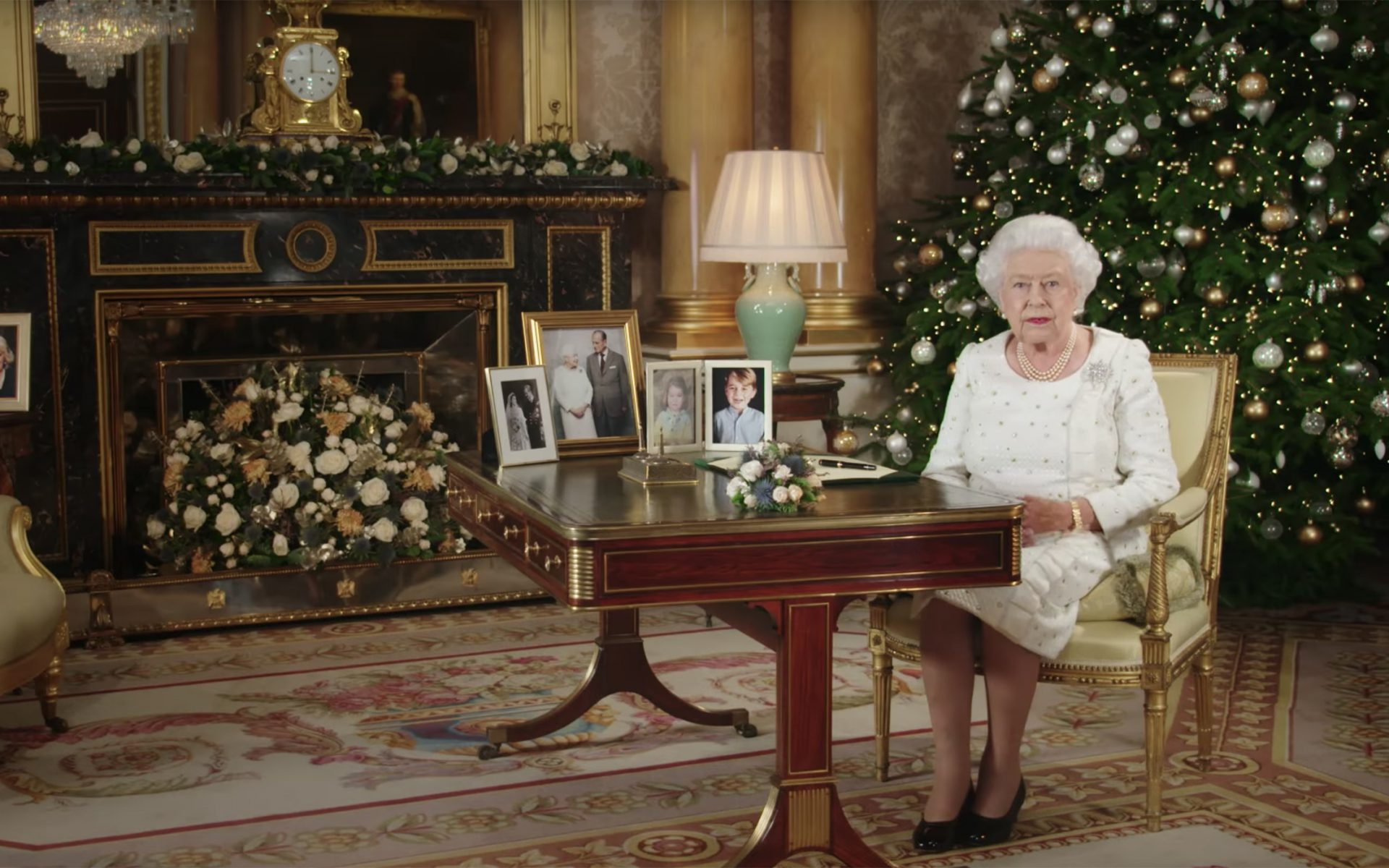 See How the Royal Family Decorates for Christmas at Buckingham Palace - Galerie
