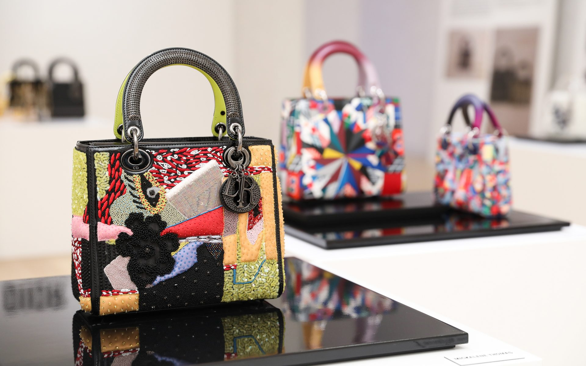 Dior Enlists 11 Women Artists to Create Chic New Handbag Collection ... 6d42abebfef75