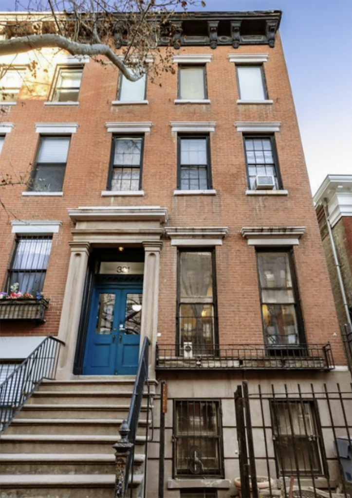 East Village Townhouse Once Home To Andy Warhol Hits The