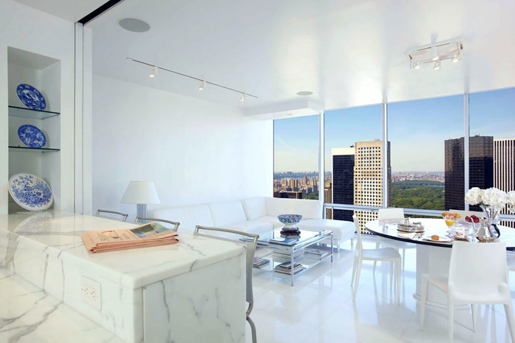 The Eat In Kitchen Looks Out Over Central Park Photo Stribling