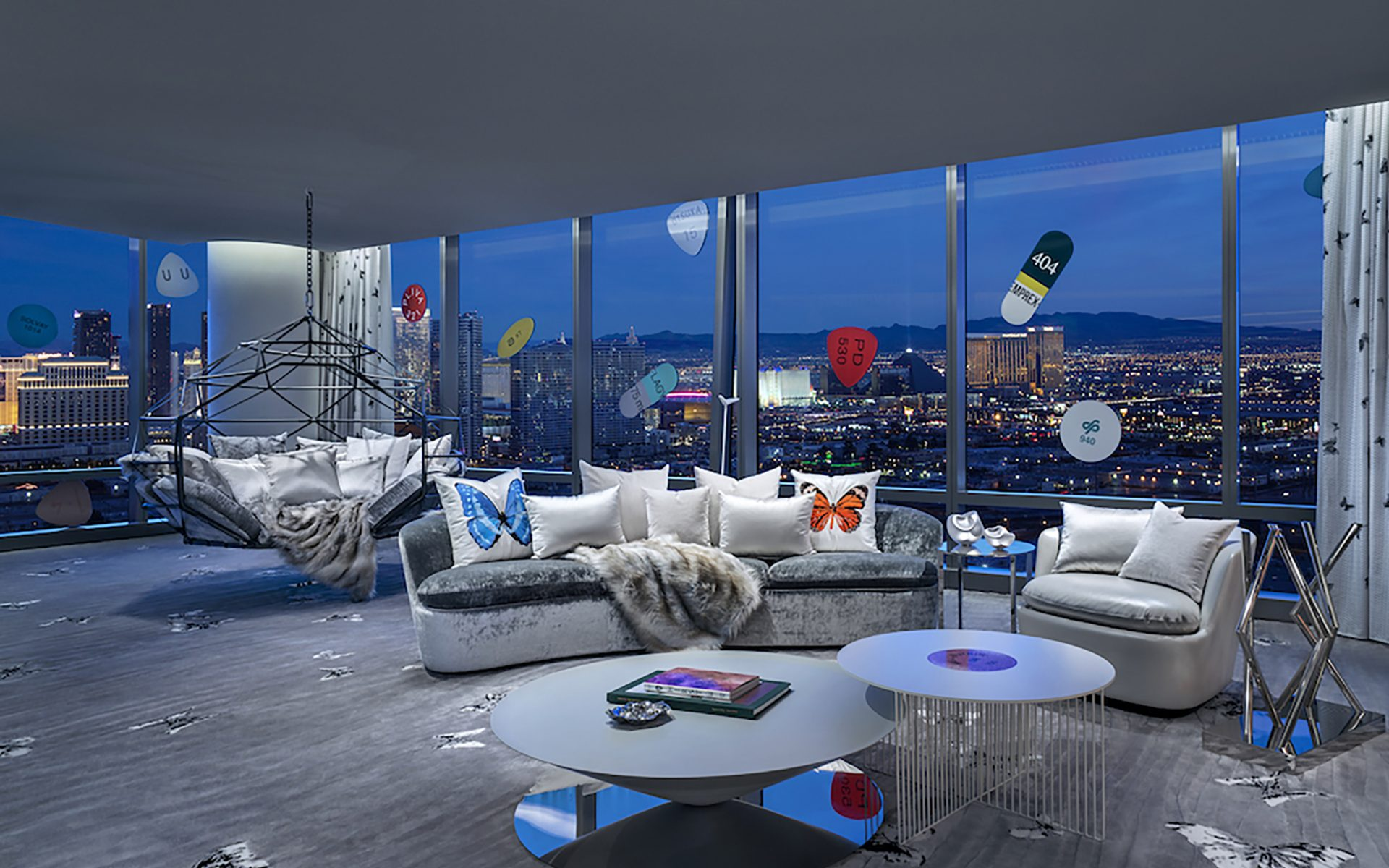 Damien Hirst Designs World S Most Expensive Hotel Suite Galerie