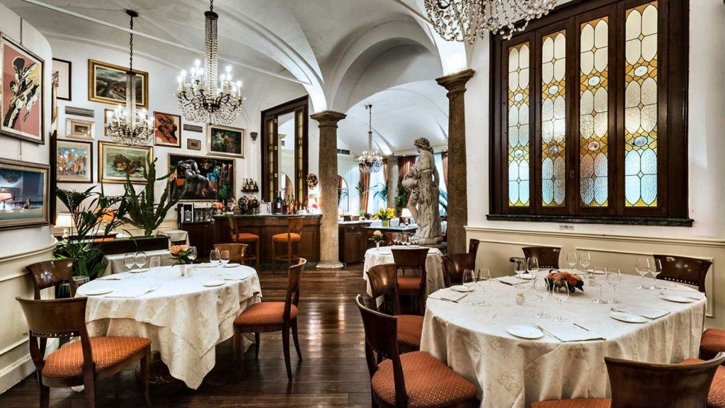 Most Beautiful Restaurants In Milan