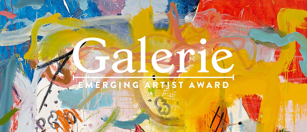 06041c821 The Galerie Emerging Artist Award - Galerie
