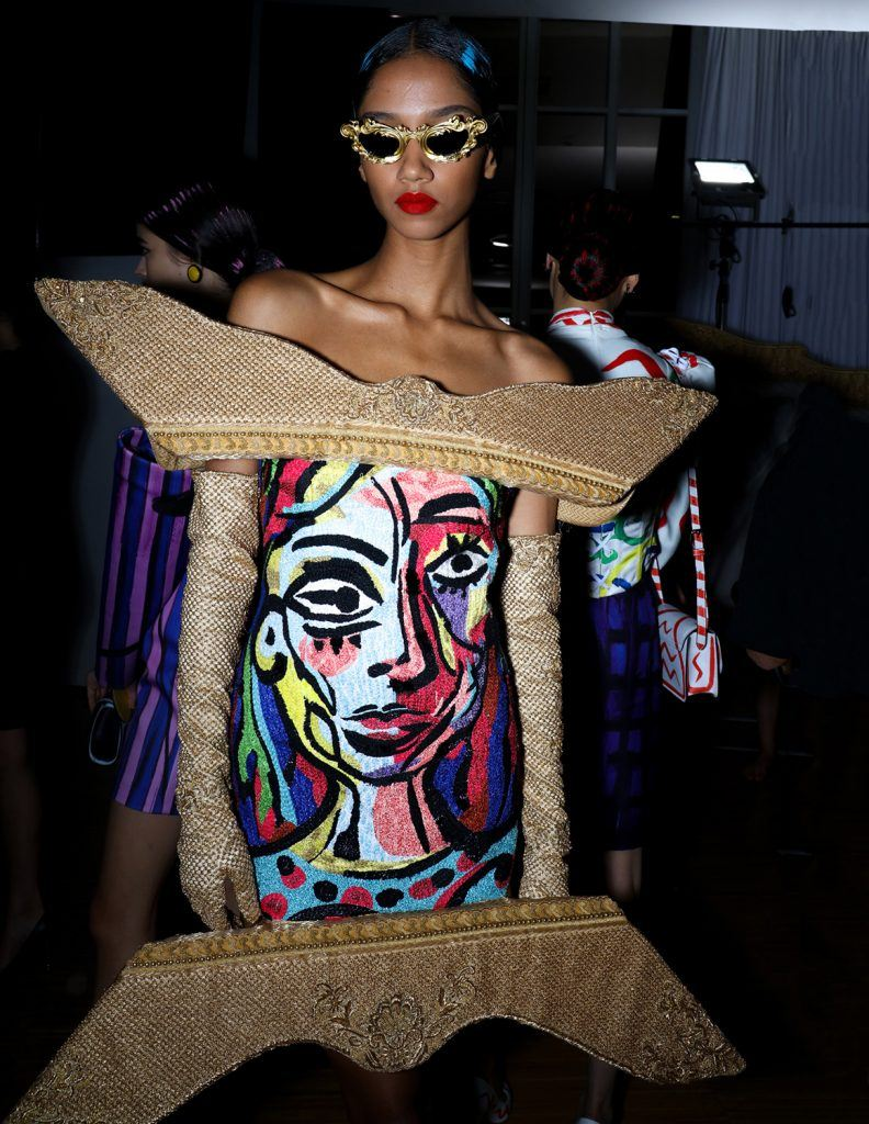 Moschino Brings Picasso S Masterpieces To Life At Milan Fashion Week Galerie