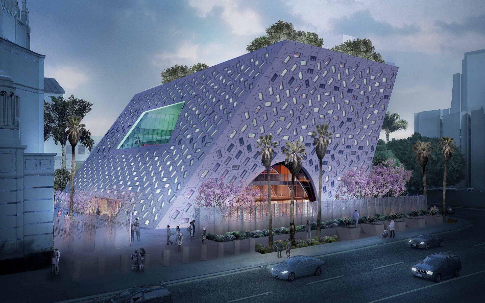Audrey Irmas Pavilion in Los Angeles.