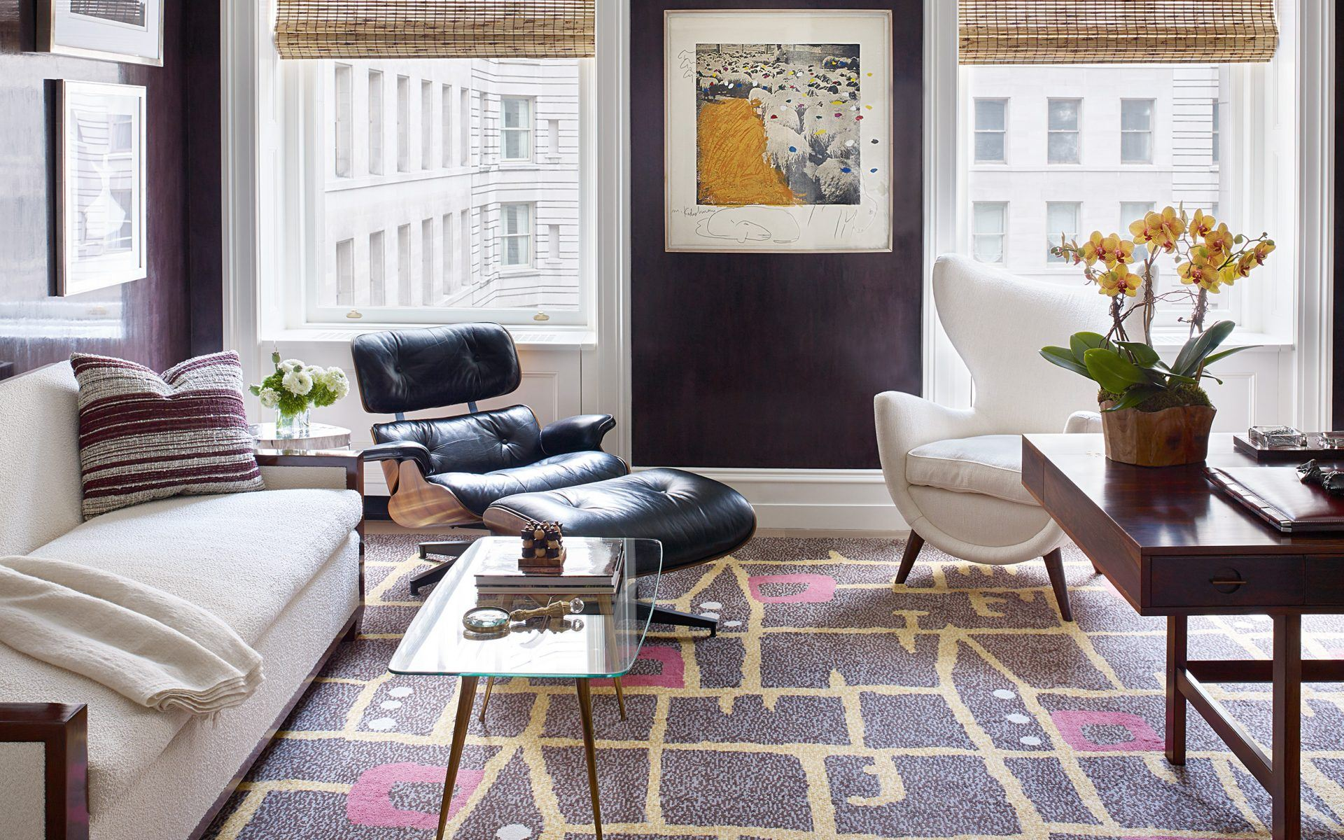 Eames Lounge Chair Living Room how the eames lounge chair became an icon of american design