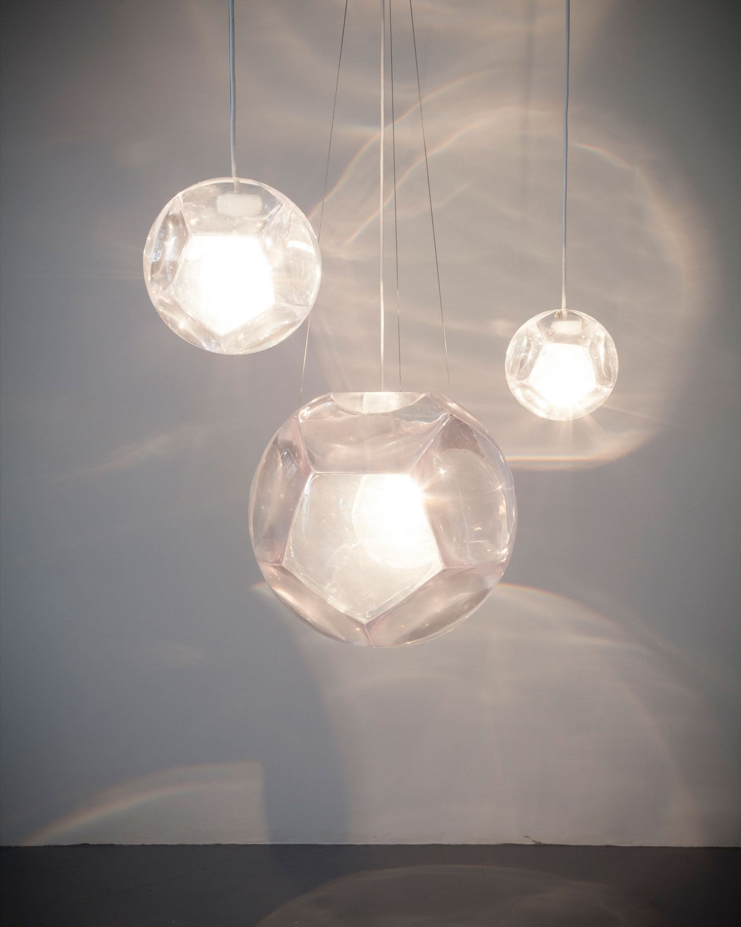 A chandelier designed by Christian Wassmann.