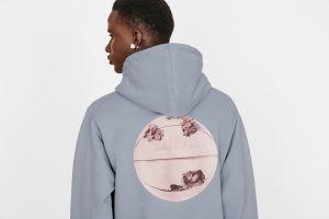 A Dior and Daniel Arsham oversized sweatshirt.