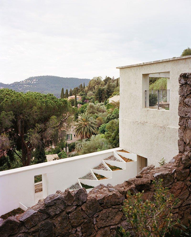 Sweeping views at Villa Noailles.