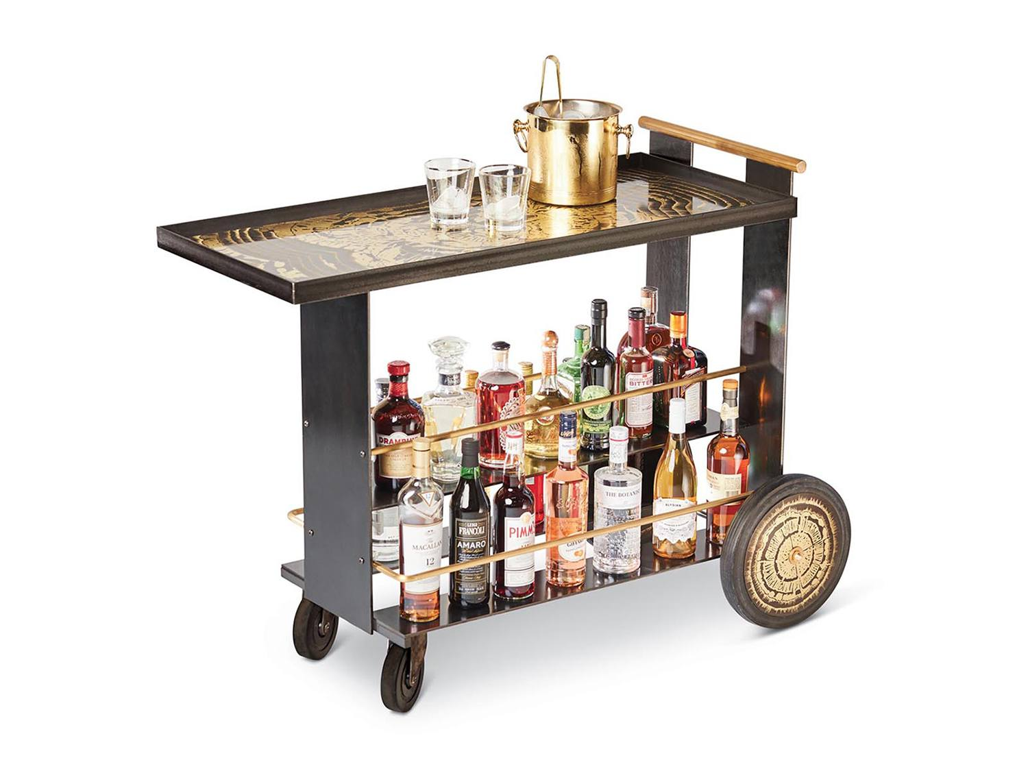 Festive Cocktails At Home Start With The Perfect Bar Cart Galerie